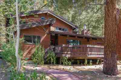 Mammoth Lakes Single Family Home Active Under Contract: 208 Grindelwald Road