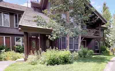 Mammoth Lakes Condo/Townhouse Active-Price Chg: 849 Links Way
