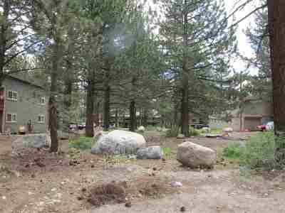 Mammoth Lakes Residential Lots & Land Active Under Contract: 377 Manzanita Rd