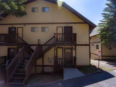 Mammoth Lakes CA Condo/Townhouse Active Under Contract: $235,000