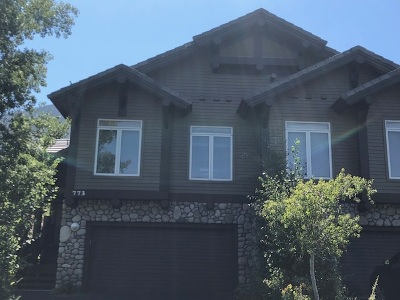 Mammoth Lakes Condo/Townhouse Active-Price Chg: 773 Fairway Circle