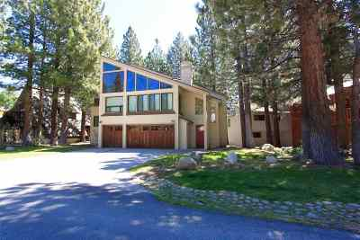 Mammoth Lakes CA Single Family Home For Sale: $1,900,000