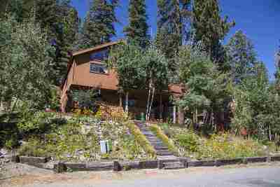 Mammoth Lakes CA Single Family Home For Sale: $975,000