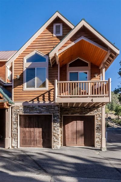 Mammoth Lakes Condo/Townhouse For Sale: 3771 Main Street