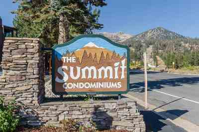 Mammoth Lakes Condo/Townhouse For Sale: 3253 Meridian #50 Boulevard