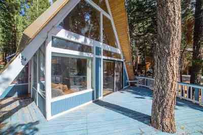 Mammoth Lakes Single Family Home For Sale: 134 Alpine Circle
