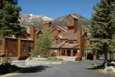 Mammoth Lakes Condo/Townhouse For Sale: 865 Majestic Pines Drive, Door #217