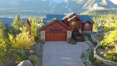 Mammoth Lakes Single Family Home Active Under Contract: 105 Panorama Drive