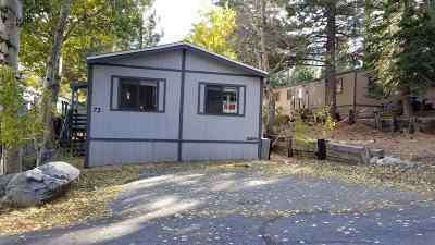 Mammoth Lakes Mobile Home Active Under Contract: 100 Ski Trail #73
