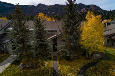 Mammoth Lakes Condo/Townhouse For Sale: 550 Golden Creek Drive
