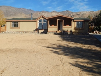 Bishop CA Manufactured Home For Sale: $319,900
