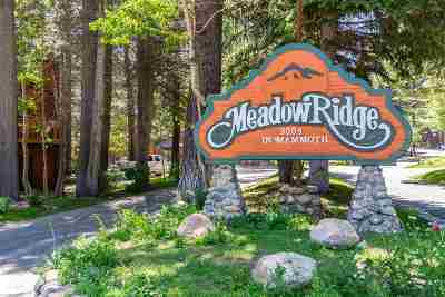 Mammoth Lakes Condo/Townhouse For Sale: 3005 Meridian Blvd
