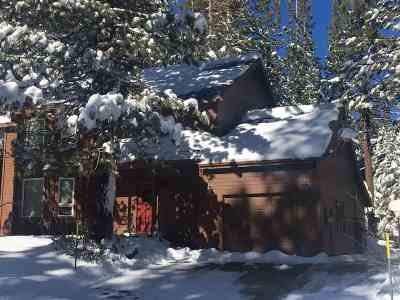 Mammoth Lakes Single Family Home Active Under Contract: 172 Mammoth Knolls Drive