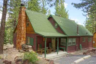 Single Family Home For Sale: 2216 Highway 158, Usfs Cabin #3