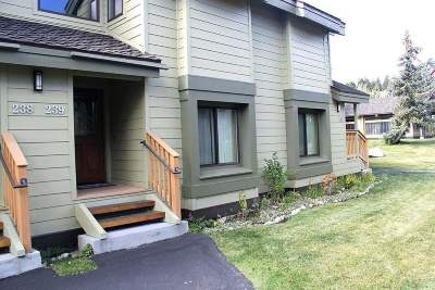 Mammoth Lakes Condo/Townhouse Active Under Contract: 239 Solitude