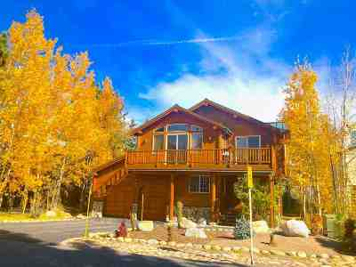 Mammoth Lakes Single Family Home For Sale: 275 Wagon Wheel Road
