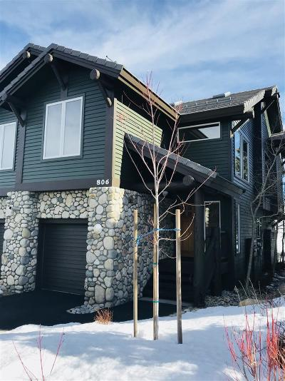 Mammoth Lakes Condo/Townhouse For Sale: 806 Fairway Circle
