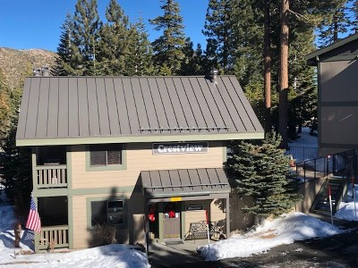Mammoth Lakes Condo/Townhouse For Sale: 261 Lakeview Boulevard