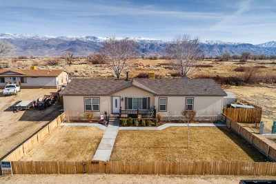 Big Pine, Bishop Single Family Home For Sale: 1628 S Valley View Drive