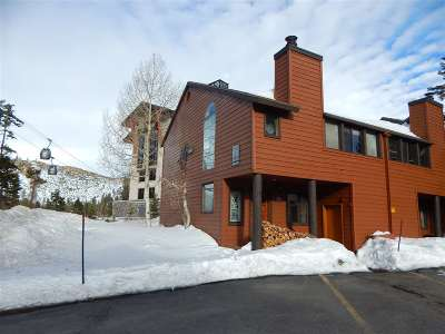 Mammoth Lakes CA Condo/Townhouse Active Under Contract: $575,000