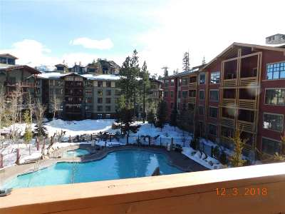 Mammoth Lakes CA Condo/Townhouse For Sale: $1,125,000