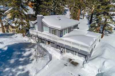 Mammoth Lakes Single Family Home Active Under Contract: 420 Canyon Blvd.