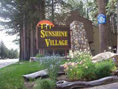 Mammoth Lakes Condo/Townhouse Active Under Contract: 2251 Meridian #152 Boulevard