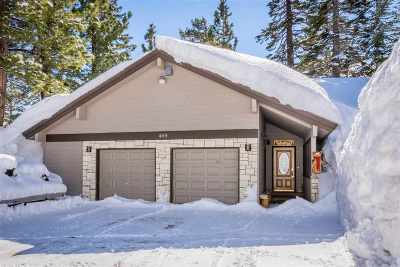 Mammoth Lakes Single Family Home For Sale: 469 Hillside Drive