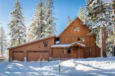 Mammoth Lakes Single Family Home Active Under Contract: 879 Forest Trail
