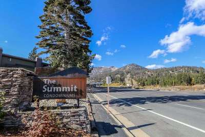 Mammoth Lakes CA Condo/Townhouse For Sale: $549,000