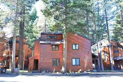 Mammoth Lakes CA Condo/Townhouse For Sale: $539,500