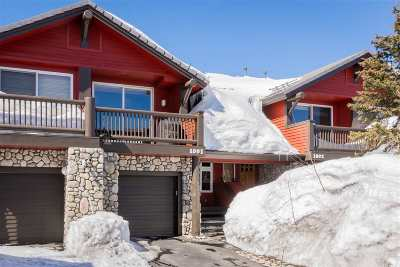 Mammoth Lakes CA Condo/Townhouse For Sale: $599,000