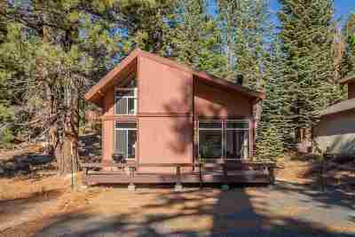 Mammoth Lakes Single Family Home Active Under Contract: 48 Larkspur Lane