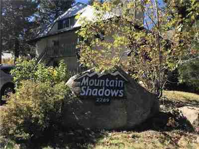 Mammoth Lakes Condo/Townhouse Active-Price Chg: 2289 Sierra Nevada Rd