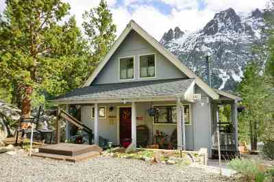 June Lake CA Single Family Home Active Under Contract: $499,450