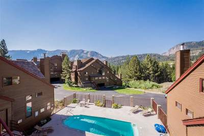 Mammoth Lakes Condo/Townhouse For Sale: 865 Majestic Pines Drive #123