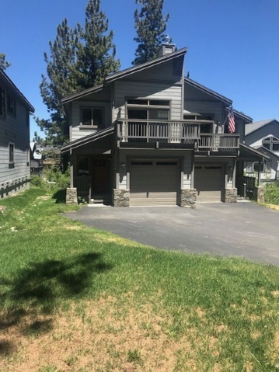 Mammoth Lakes Condo/Townhouse For Sale: 64 Crawford