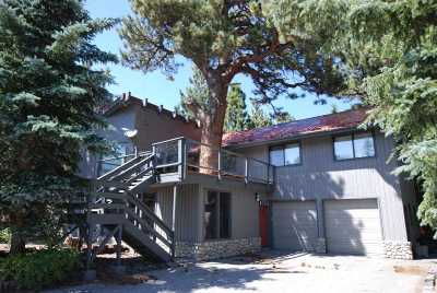 Mammoth Lakes Single Family Home For Sale: 321 Valley Vista Drive