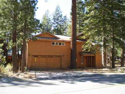 Mammoth Lakes Single Family Home For Sale: 263 Forest Trail