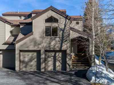 Mammoth Lakes Condo/Townhouse For Sale: 3600 Chateau Rd #11