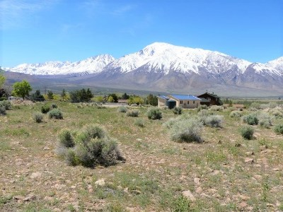 Bishop CA Residential Lots & Land For Sale: $149,900