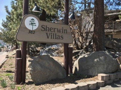Mammoth Lakes Condo/Townhouse For Sale: 362 Old Mammoth Rd # 26