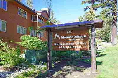 Mammoth Lakes Condo/Townhouse For Sale: 435 Lakeview Blvd #18
