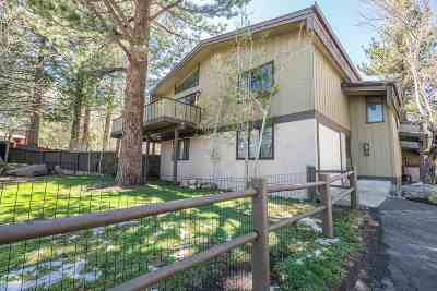 Mammoth Lakes CA Condo/Townhouse For Sale: $585,000