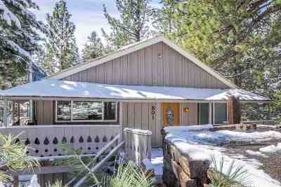 Mammoth Lakes Single Family Home Active Under Contract: 801 Forest Trail