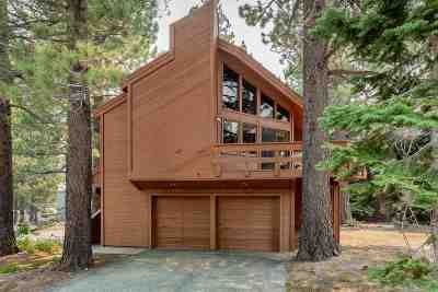 Mammoth Lakes Single Family Home Active Under Contract: 5 Pine Knoll Place