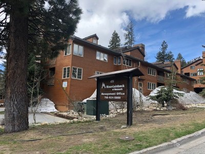 Mammoth Lakes Condo/Townhouse Active-Price Chg: 435 Lakeview #50