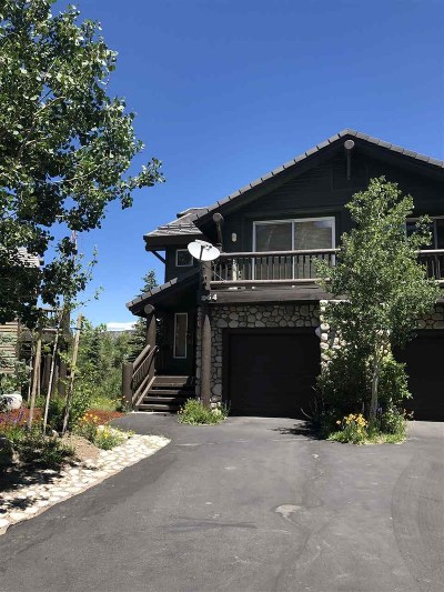 Mammoth Lakes Condo/Townhouse For Sale: 964 Fairway Circle