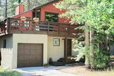 Mammoth Lakes Single Family Home For Sale: 64 Pinehurst Drive