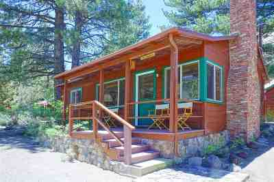 June Lake CA Single Family Home Active Under Contract: $399,000
